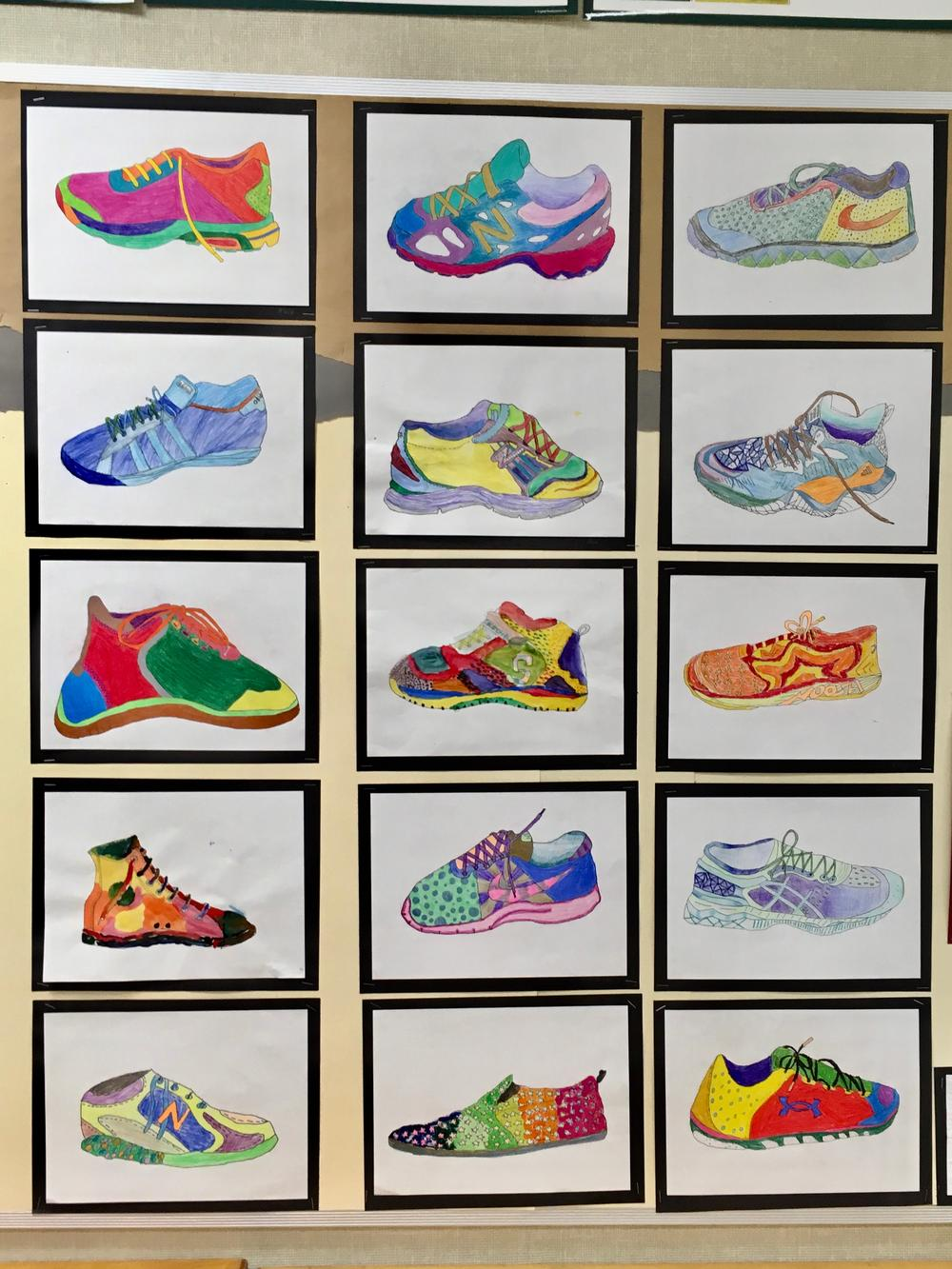 shoe artwork